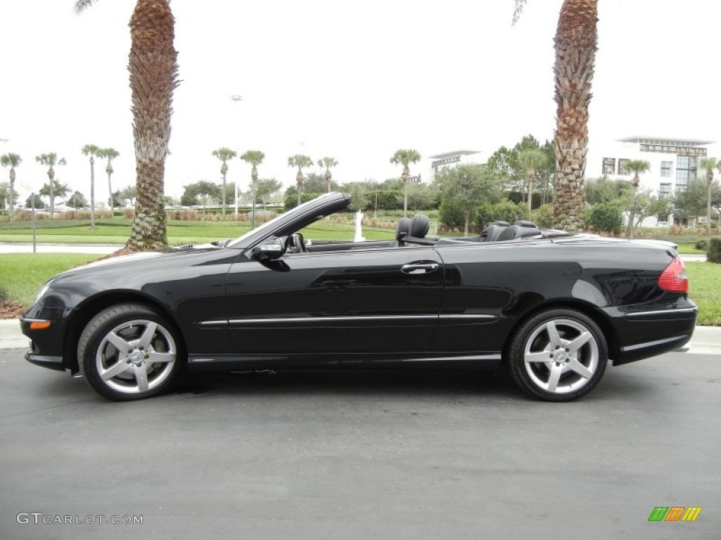 Black 2006 mercedes benz clk 500 cabriolet exterior photo for 2006 mercedes benz clk 500