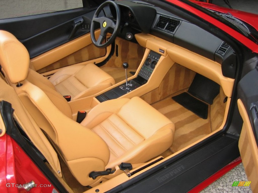 tan interior 1995 ferrari 348 spider photo 58375383. Black Bedroom Furniture Sets. Home Design Ideas
