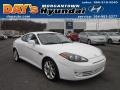 2008 Captiva White Hyundai Tiburon GT  photo #1