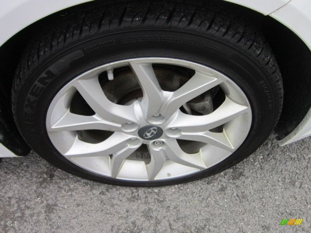 2008 Hyundai Tiburon GT Wheel Photo #58378044