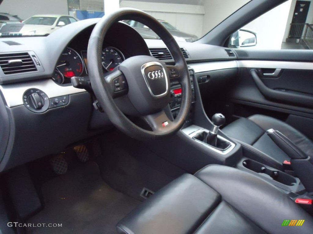 black interior 2006 audi s4 4 2 quattro sedan photo. Black Bedroom Furniture Sets. Home Design Ideas