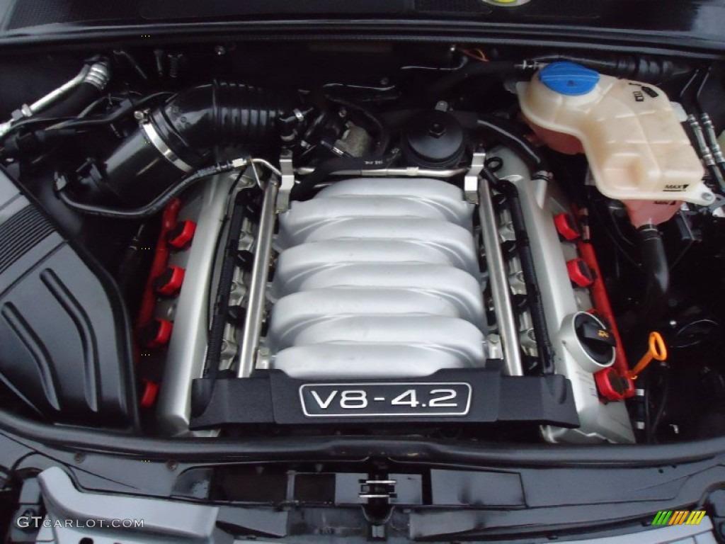 2006 Audi S4 4 2 Quattro Sedan 4 2 Liter Dohc 40 Valve Vvt