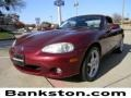 Garnet Red Mica 2003 Mazda MX-5 Miata Roadster