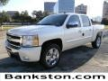 2011 White Diamond Tricoat Chevrolet Silverado 1500 LT Crew Cab  photo #1
