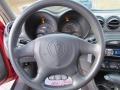 1999 Pontiac Grand Am Dark Pewter Interior Steering Wheel Photo
