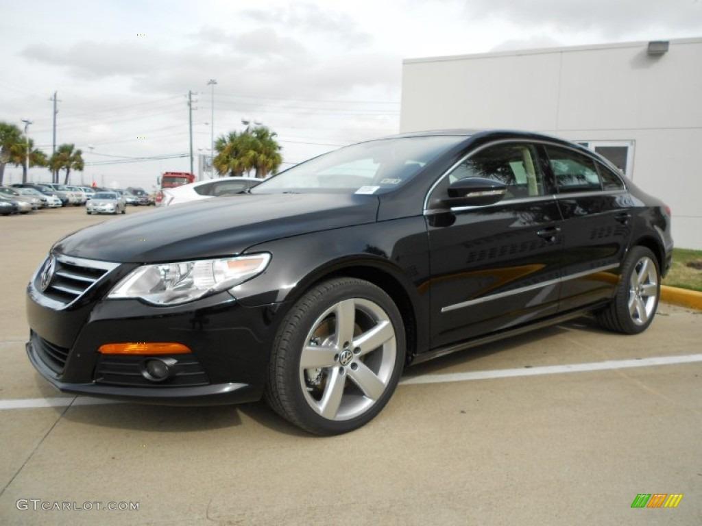 Deep Black Metallic 2012 Volkswagen CC Lux Plus Exterior ...