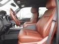 2012 Tuxedo Black Metallic Ford F250 Super Duty King Ranch Crew Cab 4x4  photo #9