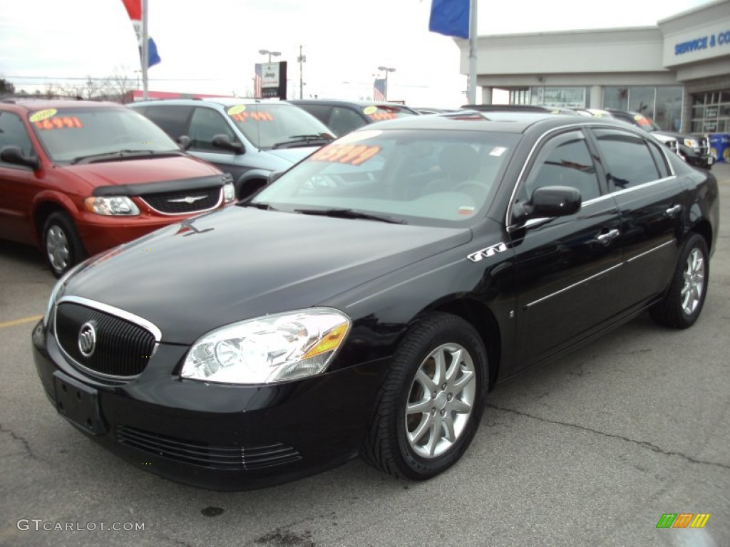 2007 Buick Lucerne Black >> 2008 Black Onyx Buick Lucerne Cxl 58397108 Gtcarlot Com Car