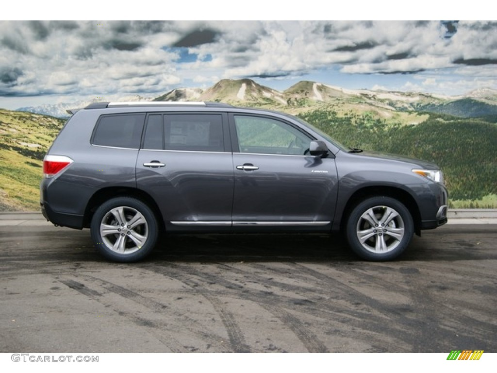 Magnetic Gray Metallic 2012 Toyota Highlander Limited 4wd Exterior Photo 58428498