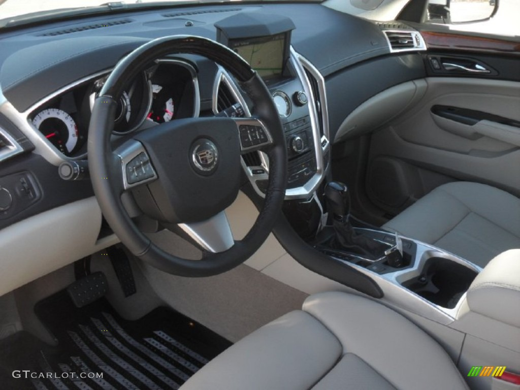 Shale Ebony Interior 2012 Cadillac Srx Luxury Photo 58432050
