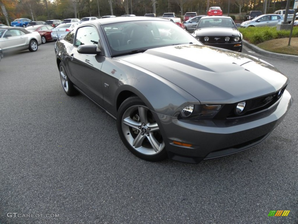 Sterling Grey Metallic Ford Mustang