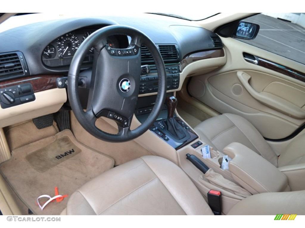 Sand Interior 2003 Bmw 3 Series 325xi Sedan Photo
