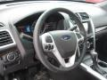 Charcoal Black Steering Wheel Photo for 2011 Ford Explorer #58437999