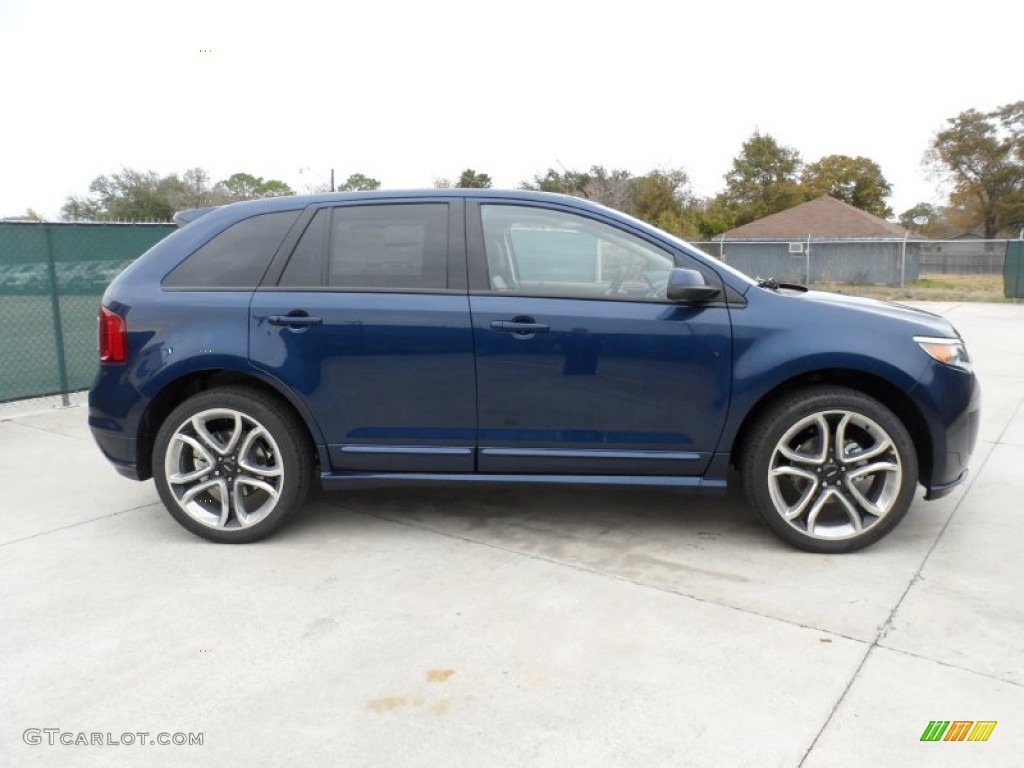 dark blue pearl metallic 2012 ford edge sport exterior photo 58443831. Black Bedroom Furniture Sets. Home Design Ideas