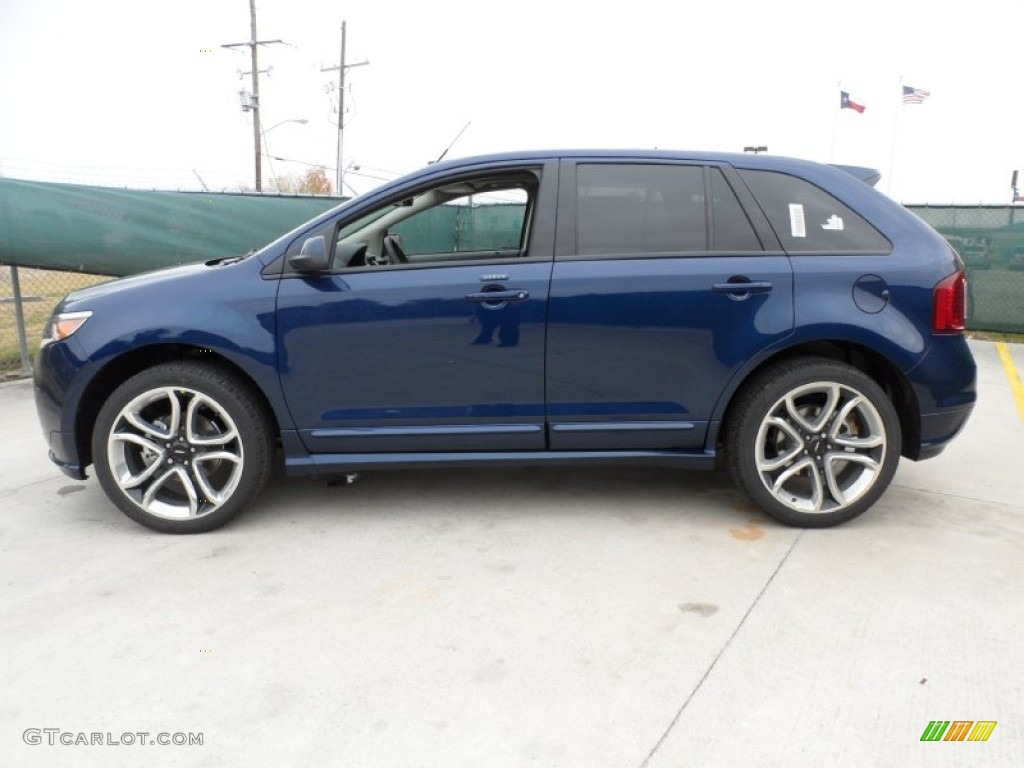 dark blue pearl metallic 2012 ford edge sport exterior photo 58443843. Black Bedroom Furniture Sets. Home Design Ideas