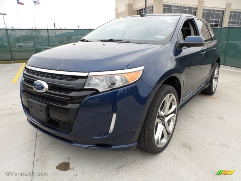dark blue pearl metallic 2012 ford edge sport exterior photo 58443846. Black Bedroom Furniture Sets. Home Design Ideas