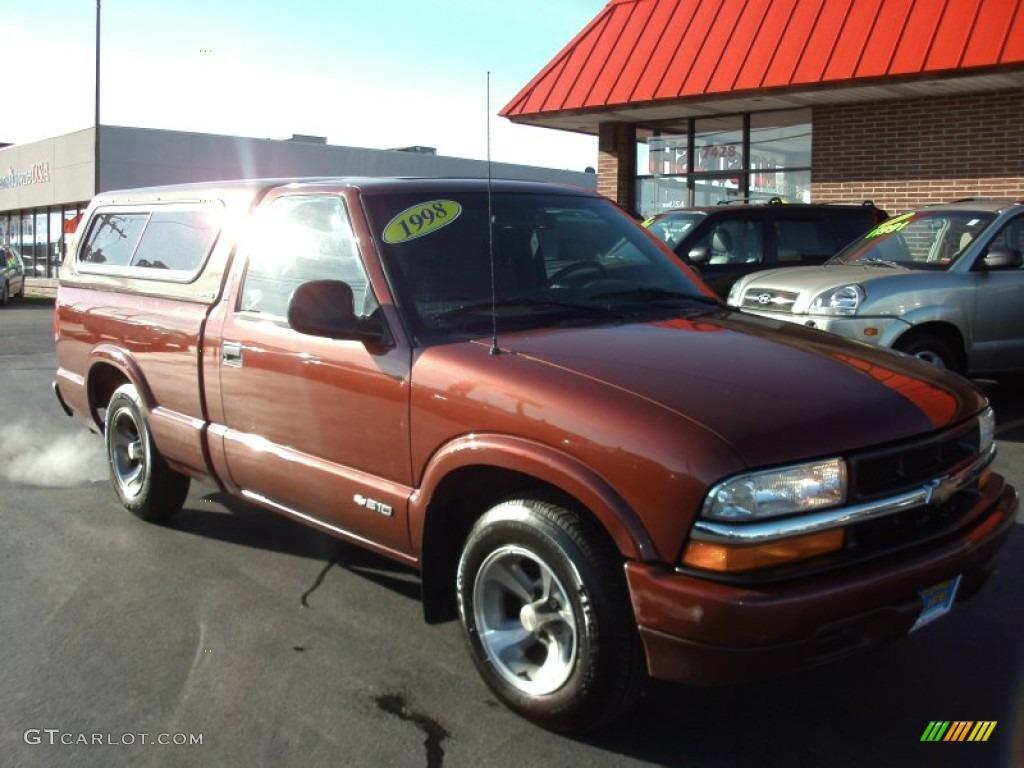1998 Copper Metallic Chevrolet S10 Regular Cab #58447922 | GTCarLot ...