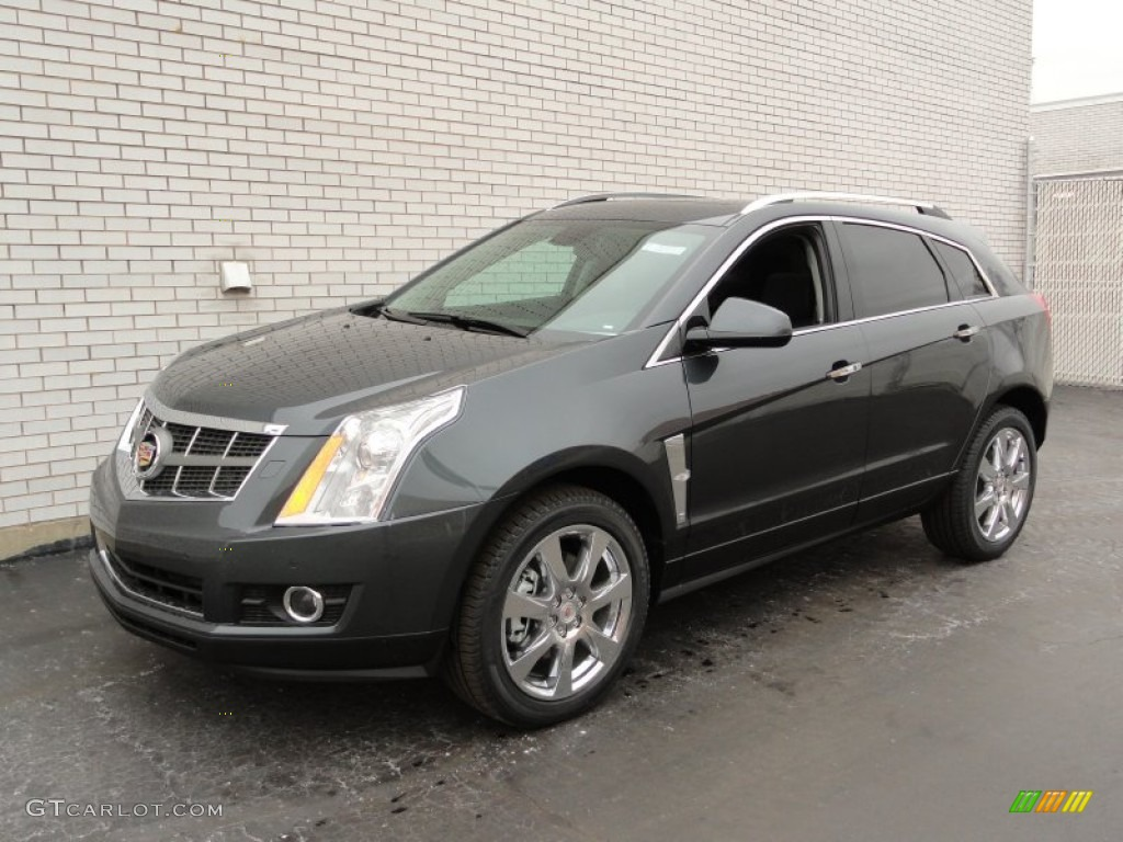 2012 Gray Flannel Metallic Cadillac Srx Performance Awd 58447628 Car Color