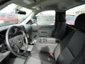 2012 Imperial Blue Metallic Chevrolet Silverado 1500 Work Truck Regular Cab 4x4  photo #4