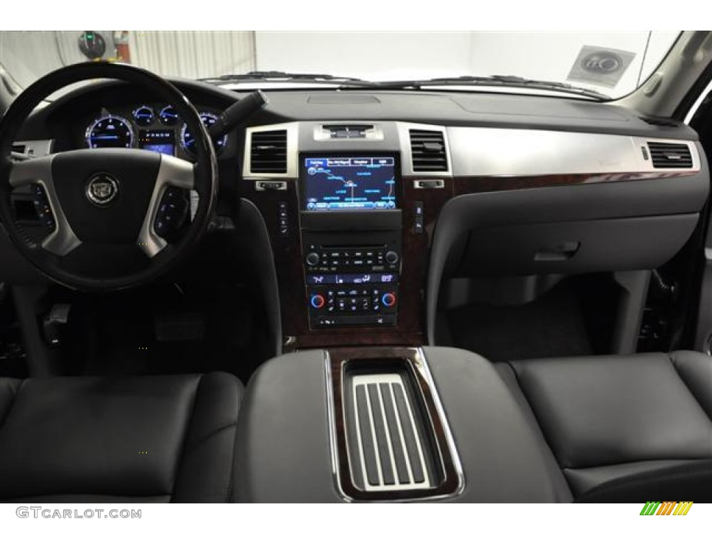 2012 cadillac escalade ext premium awd ebony ebony dashboard photo 58461497