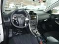 2012 Corolla S Dark Charcoal Interior