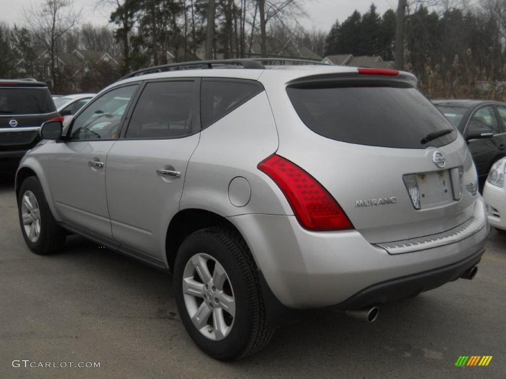 2007 Murano S AWD - Brilliant Silver Metallic / Charcoal photo #13