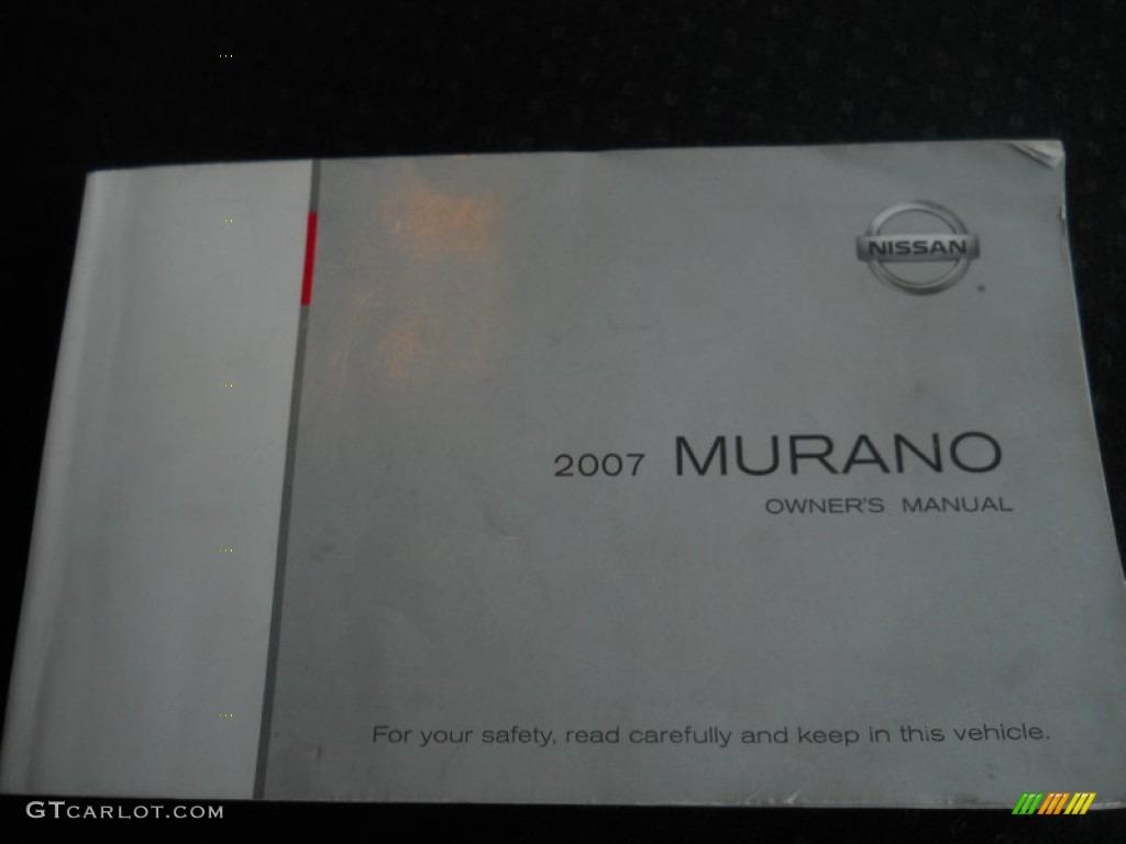 2007 Murano S AWD - Brilliant Silver Metallic / Charcoal photo #19