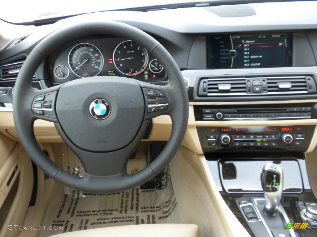 2012 Bmw 5 Series 528i Sedan Venetian Beige Dashboard Photo 58479918 Gtcarlot Com