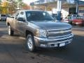 2012 Mocha Steel Metallic Chevrolet Silverado 1500 LT Extended Cab 4x4  photo #7