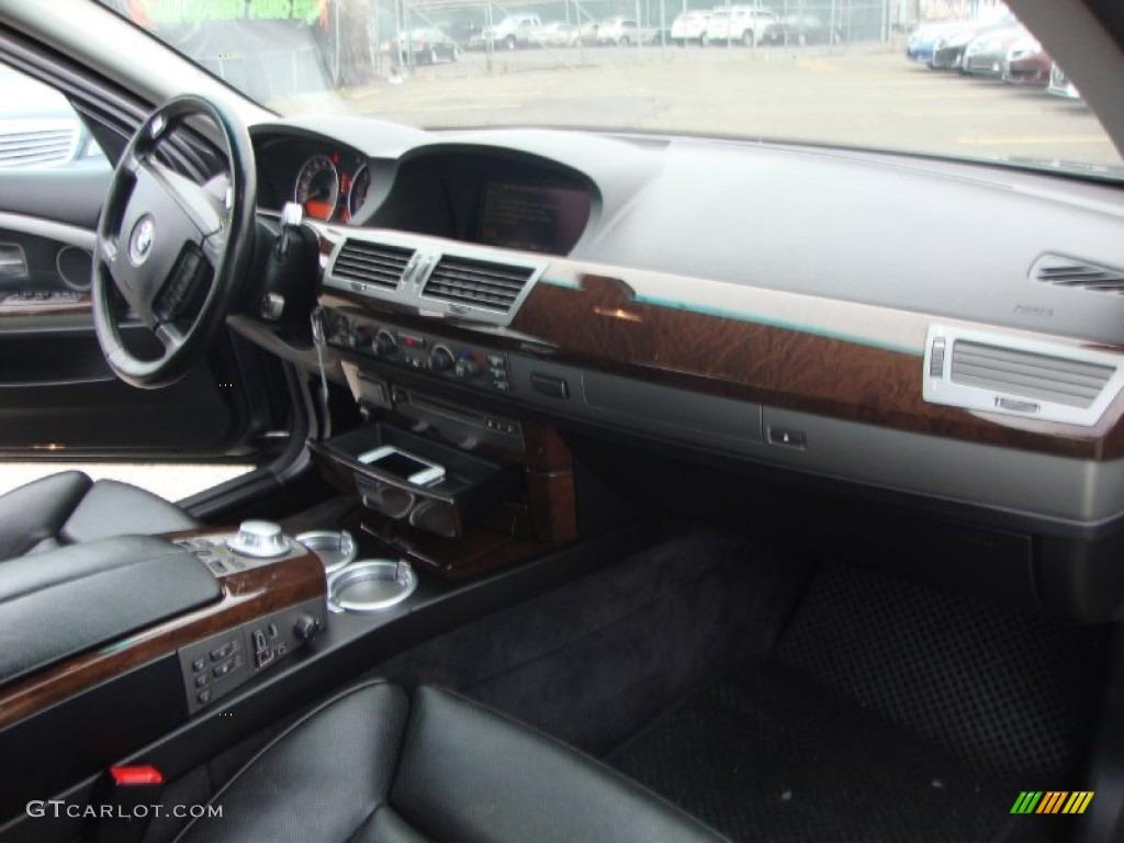 2004 BMW 7 Series 745i Sedan Black Dashboard Photo 58494082