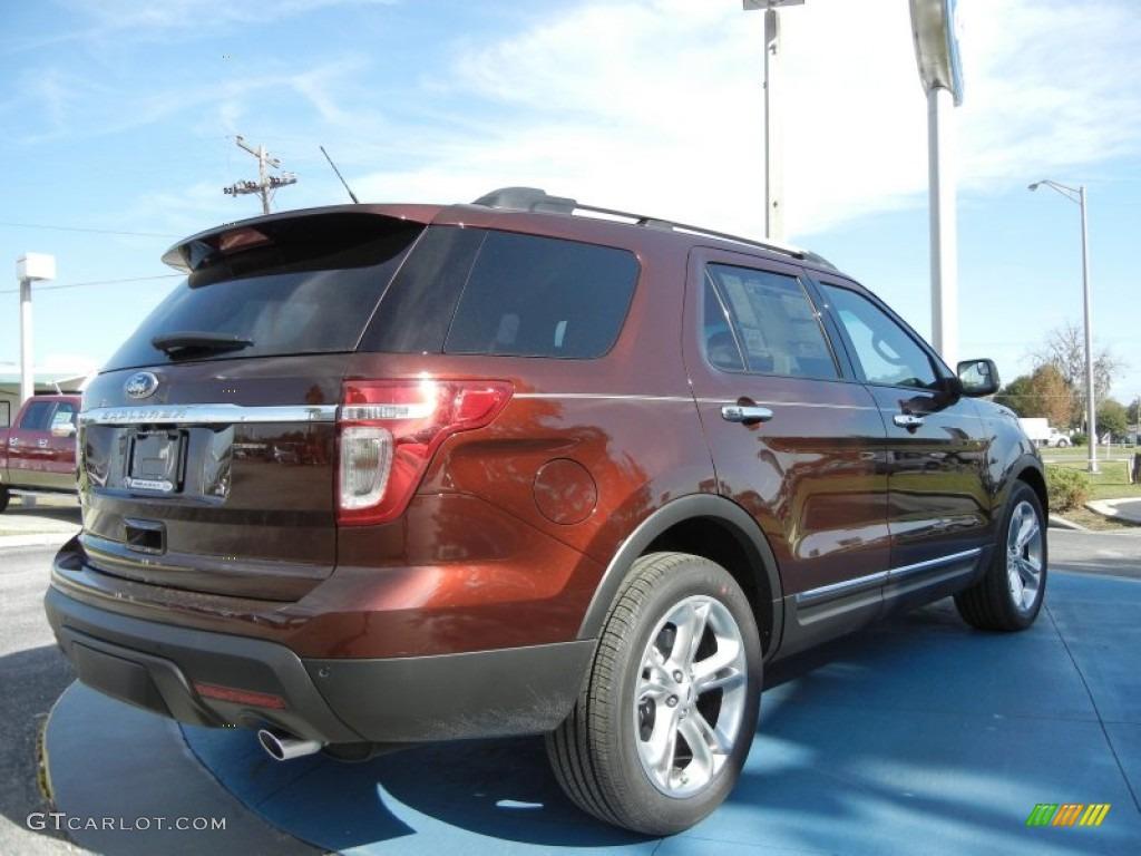 Cinnamon metallic 2012 ford explorer limited exterior - Ford explorer exterior dimensions ...