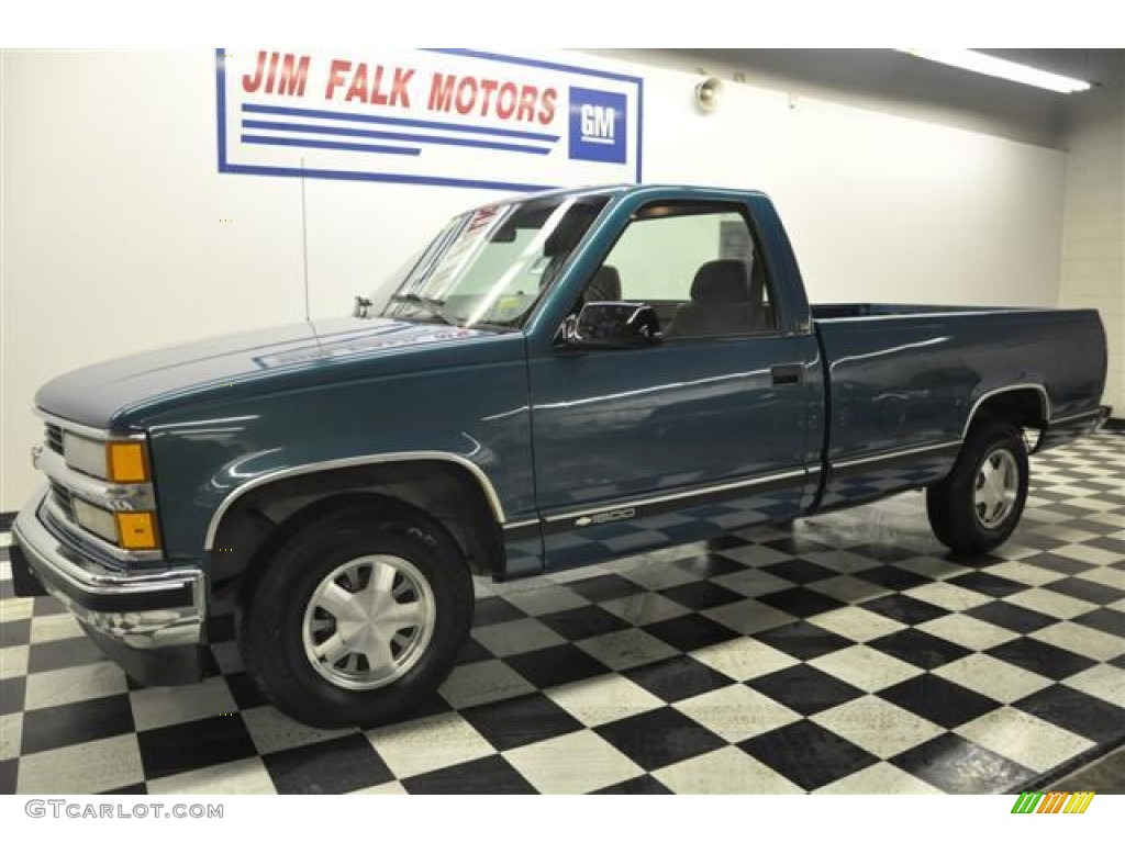 Thumb additionally K Series Extended Cab Pickup Silverado Fq Oem additionally Gmc K Sierra Rear additionally  further . on green 1998 chevy k1500 extended cab pic