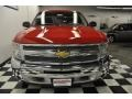 2012 Victory Red Chevrolet Silverado 1500 LS Extended Cab 4x4  photo #4