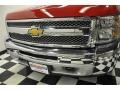2012 Victory Red Chevrolet Silverado 1500 LS Extended Cab 4x4  photo #5