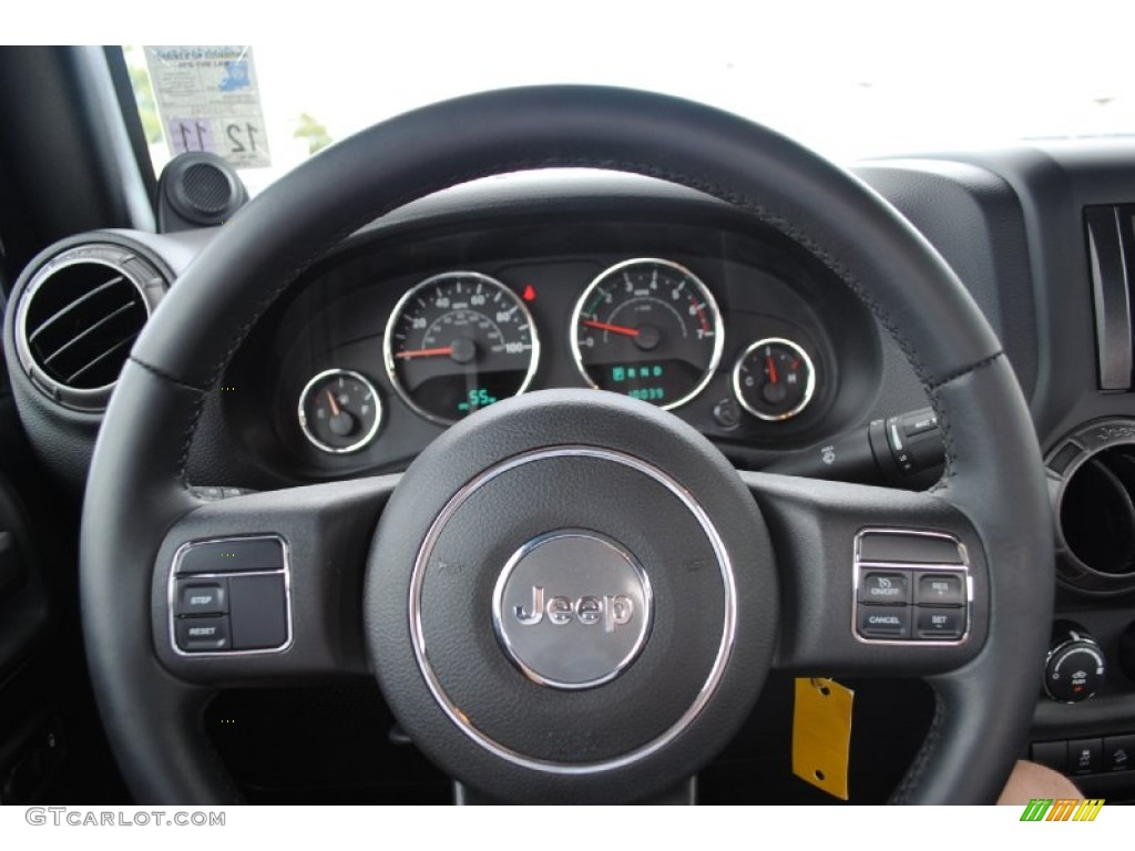 2011 Jeep Wrangler Sport S 4x4 Steering Wheel Photos
