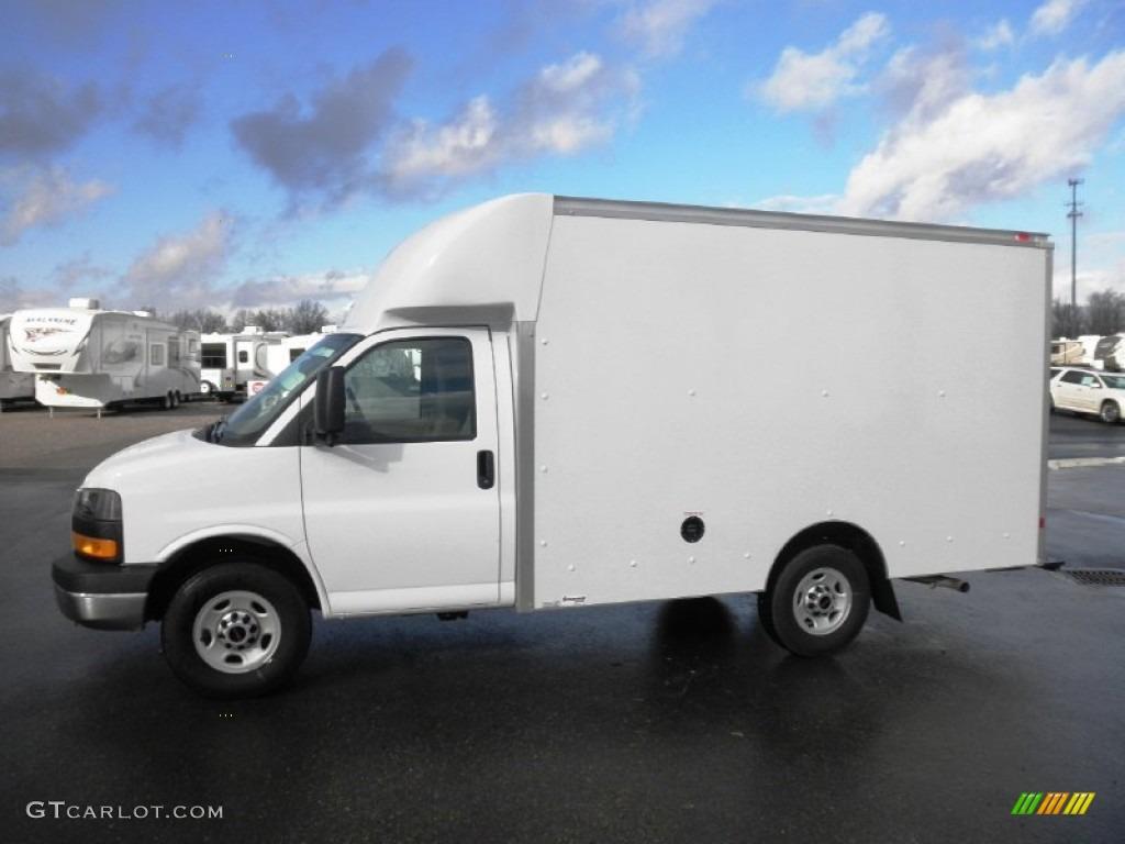 Gmc Savana 3500 >> Summit White 2012 GMC Savana Cutaway 3500 Commercial Moving Truck Exterior Photo #58512206 ...