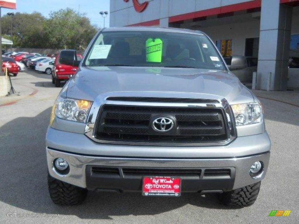 2011 Tundra Double Cab - Silver Sky Metallic / Graphite Gray photo #2