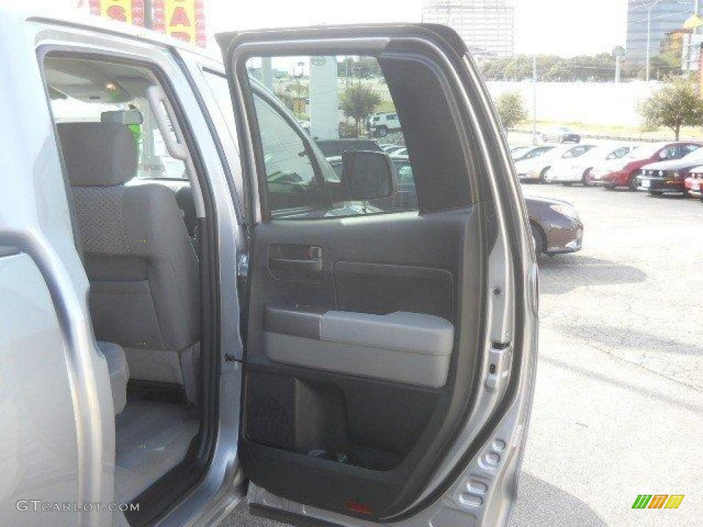 2011 Tundra Double Cab - Silver Sky Metallic / Graphite Gray photo #16