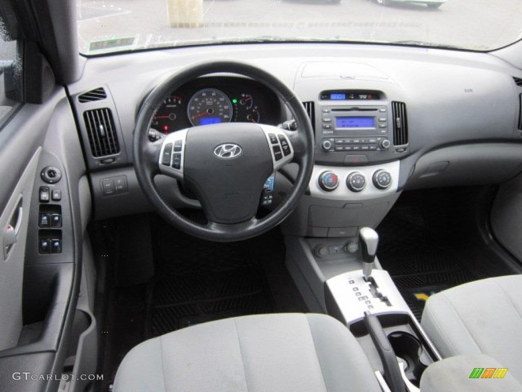 2008 Hyundai Elantra Se Sedan Gray Dashboard Photo