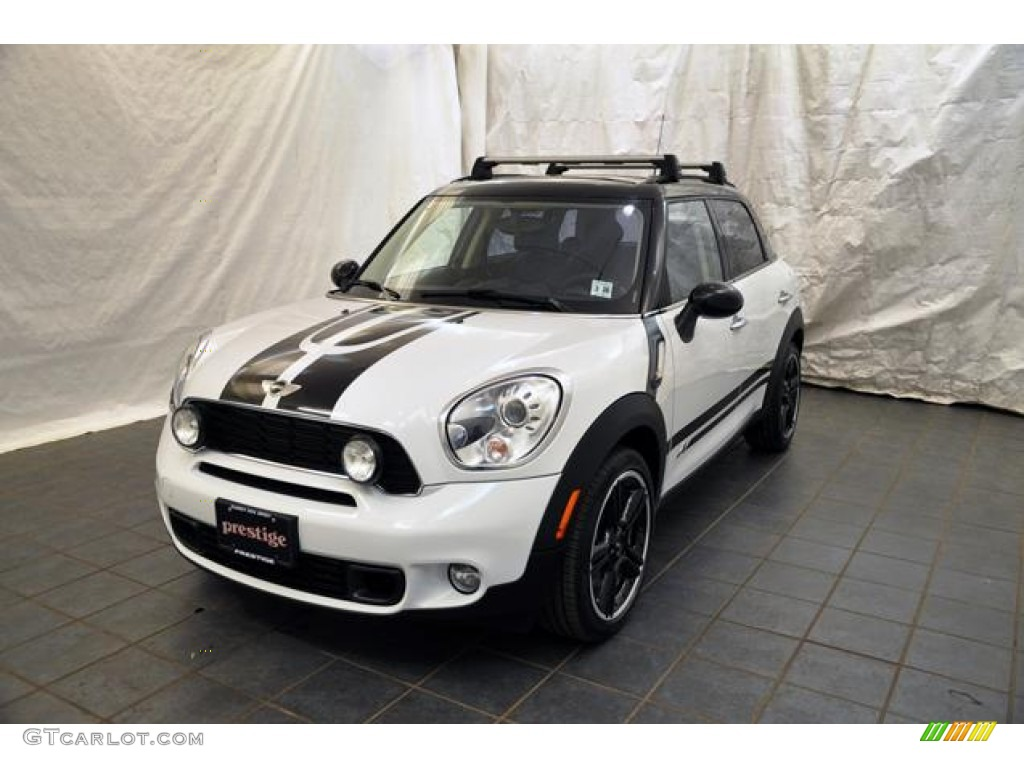 2011 light white mini cooper s countryman all4 awd 58501305 car color galleries. Black Bedroom Furniture Sets. Home Design Ideas