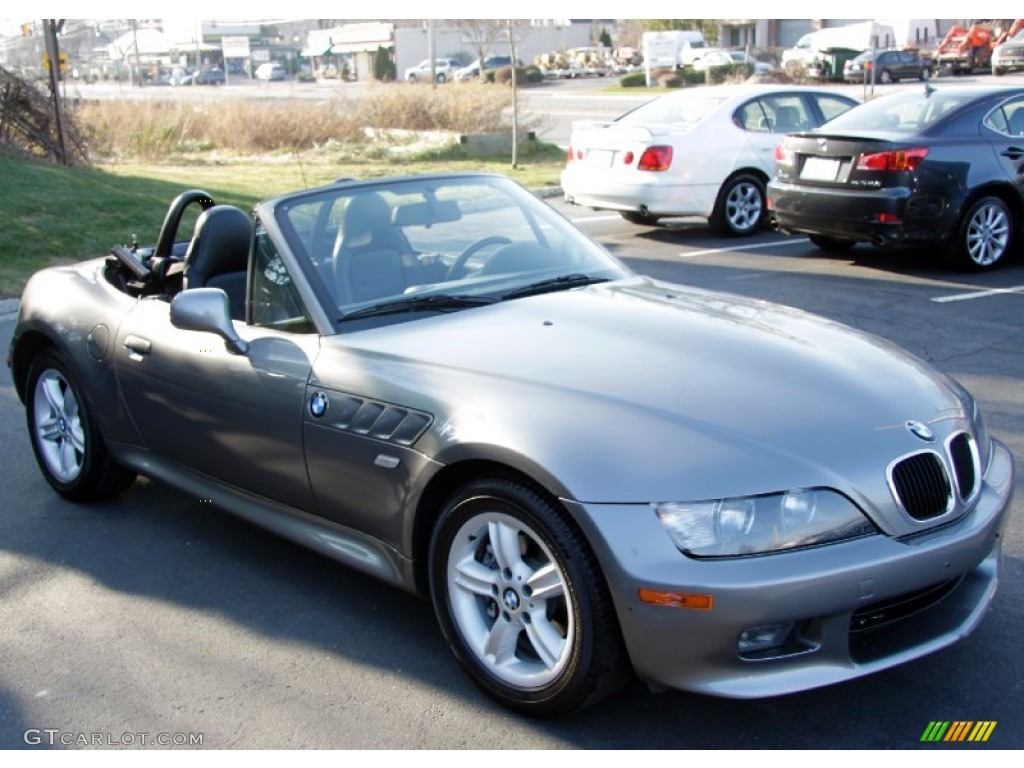 Steel Grey Metallic 2001 Bmw Z3 2 5i Roadster Exterior Photo 58528275 Gtcarlot Com