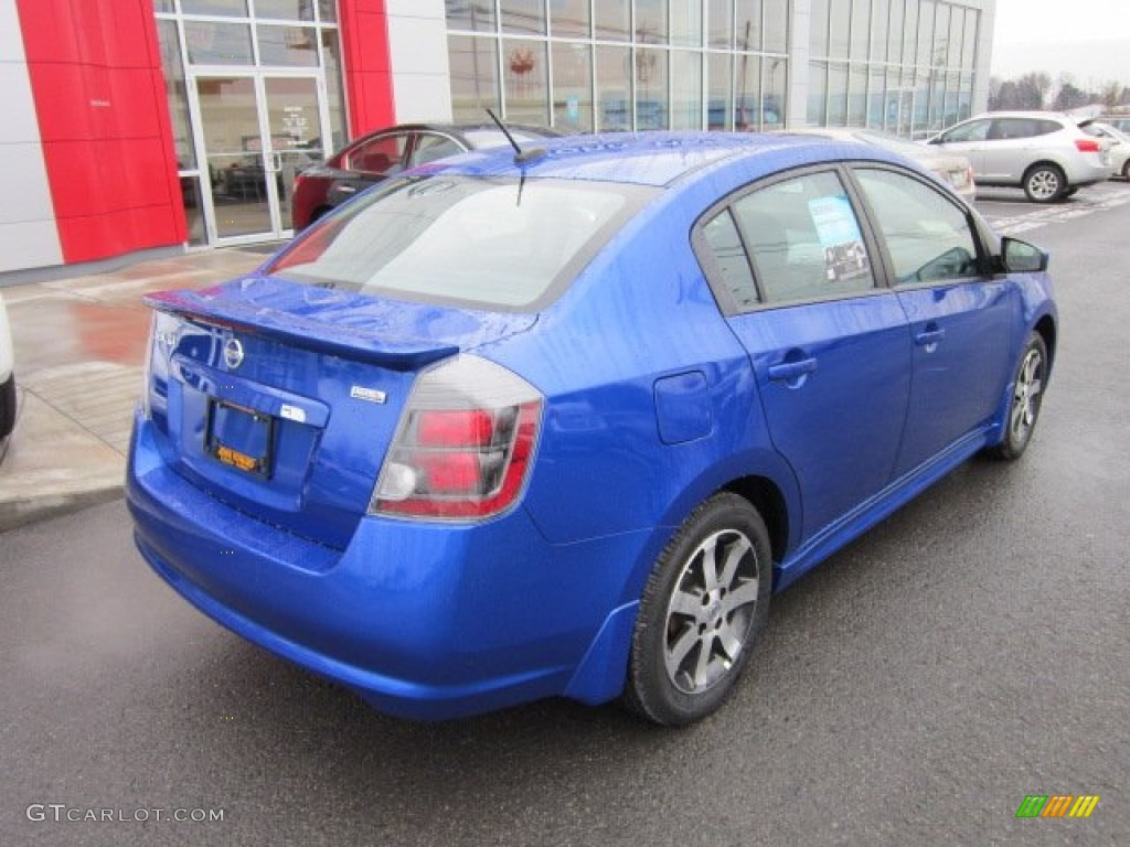 2012 metallic blue nissan sentra 2 0 sr special edition 58501782 photo 7 car. Black Bedroom Furniture Sets. Home Design Ideas