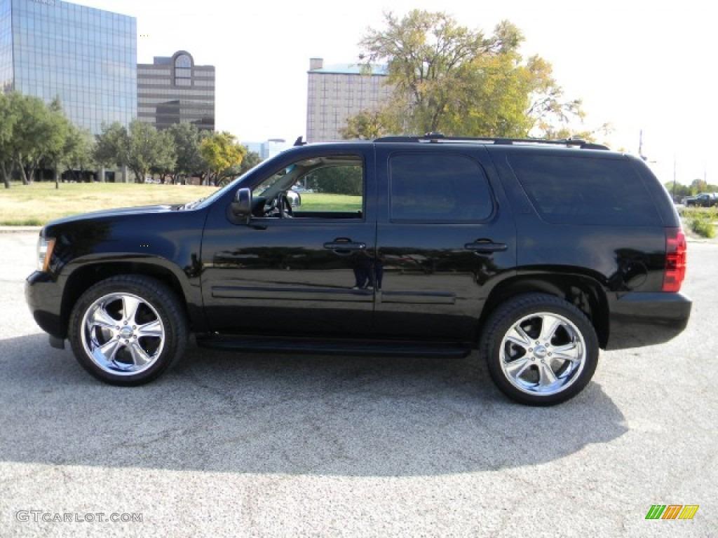 Black 2008 Chevrolet Tahoe Ltz Exterior Photo 58548275