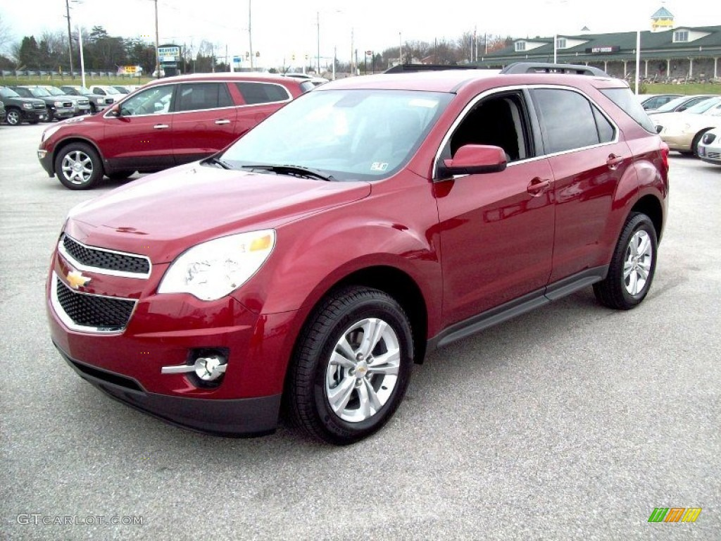 cardinal red metallic 2012 chevrolet equinox lt awd exterior photo 58551708. Black Bedroom Furniture Sets. Home Design Ideas