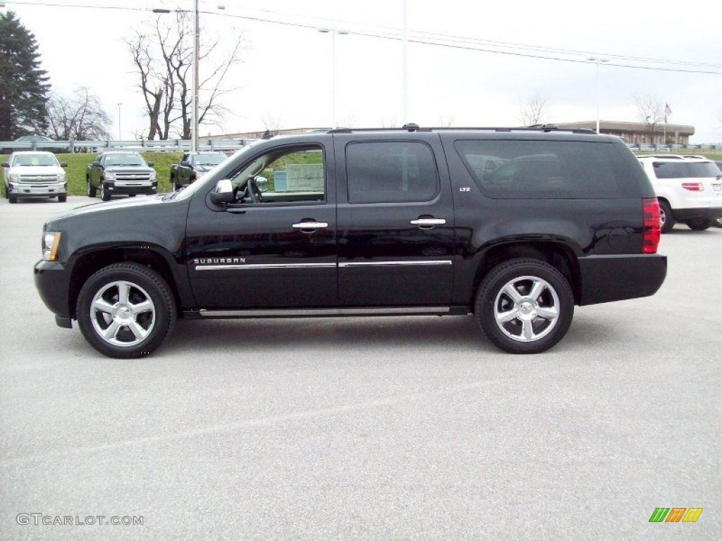 2012 suburban on black 2012 chevrolet suburban ltz 4x4 exterior photo 58552029