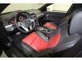 Onyx/Red Interior Photo for 2009 Pontiac G8 #58553463