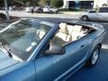 2007 Windveil Blue Metallic Ford Mustang GT Premium Convertible  photo #10