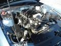 2007 Windveil Blue Metallic Ford Mustang GT Premium Convertible  photo #32