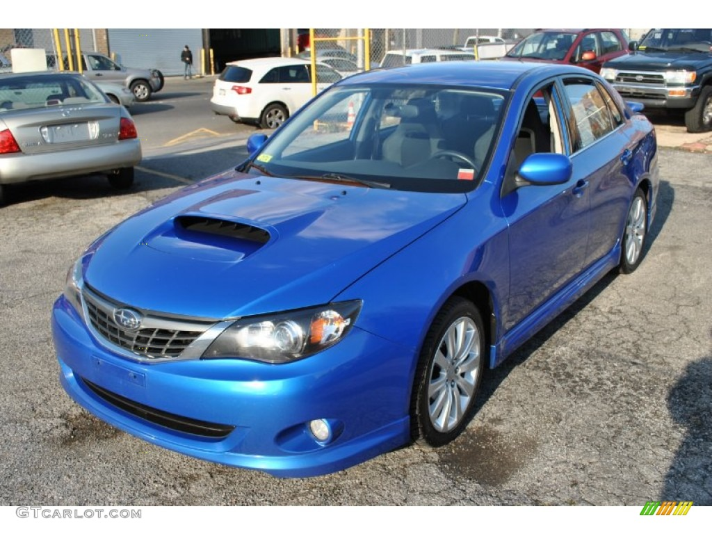 wr blue mica 2008 subaru impreza wrx sedan exterior photo. Black Bedroom Furniture Sets. Home Design Ideas
