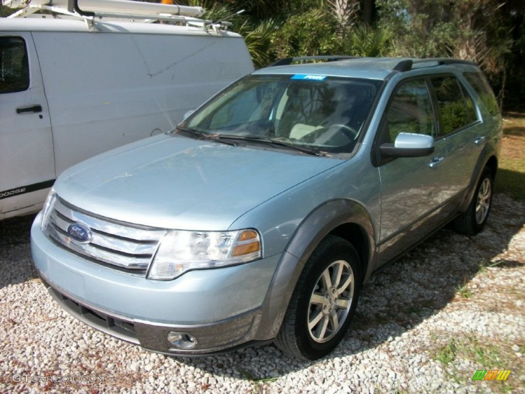 2009 light ice blue metallic ford taurus x sel 58555800 car color galleries. Black Bedroom Furniture Sets. Home Design Ideas